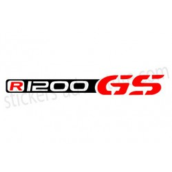 Sticker R1200 GS bagagerie