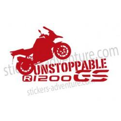 R1200GS unstop silhouette