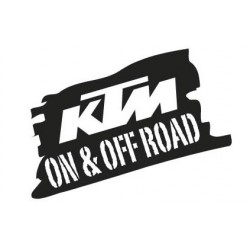Sticker KTM on&off road